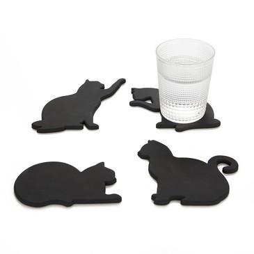 Подставка под стаканы Cat 4шт. магнитная Balvi