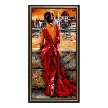 Мозаичная картина. Девушка в вечернем платье Color Kit