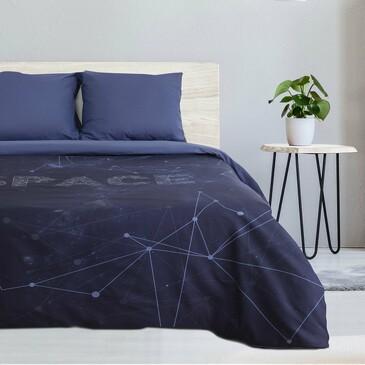 Комплект постельного белья Space, поплин Этель