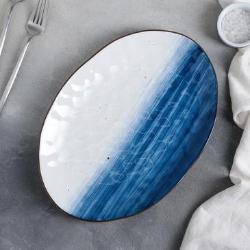 Блюдо Нептун 31,5х22 см Доляна