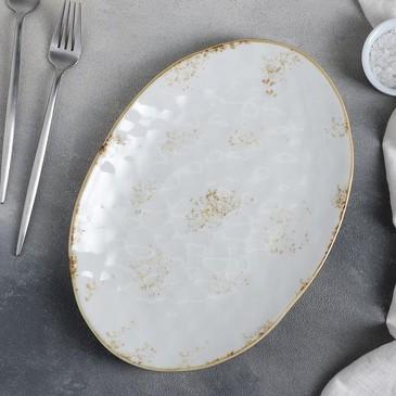 Блюдо Плутон 31,5х22 см Доляна