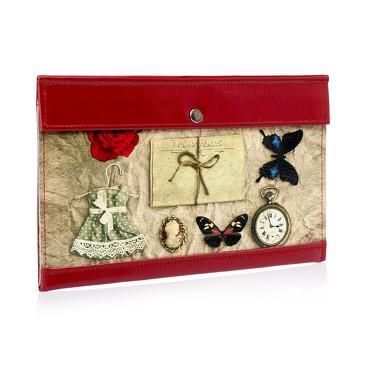 Тревел-конверт Платьице с бабочкой Eshemoda
