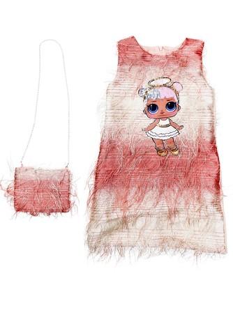 Платье нарядное с сумкой Lilax