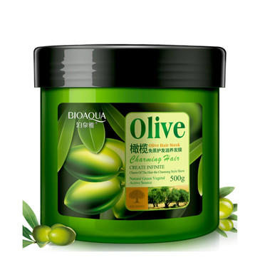 Маска д/волос с маслом оливы BioAqua