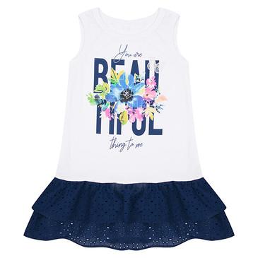 Платье Синее шитье Leader Kids
