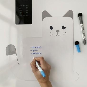 Магнитная доска с 2 маркерами Meow! Balvi