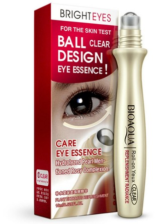 Сыворотка-роллер для век Bright Eyes Essence BioAqua