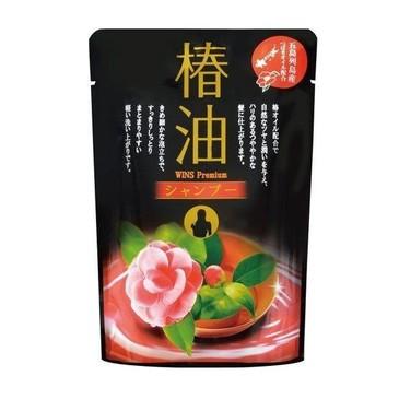 Увлажняющий шампунь для волос с маслом камелии и цветочным ароматом 400 мл (мэу) Wins