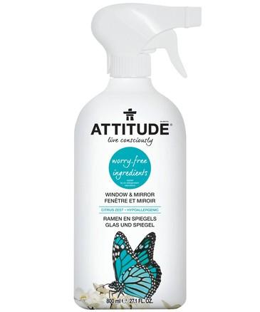 Очиститель для стёкол и зеркал (800 мл) Attitude