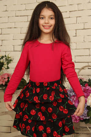 Трикотажная блузка Красавушка