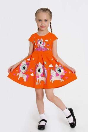 Платье Серенада-2 с шелкографией Ивашка