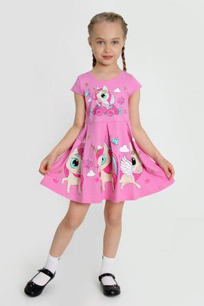 Платье Серенада-3 с шелкографией Ивашка