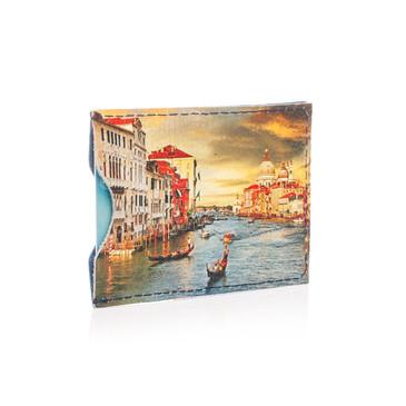 Чехол для карт 2 оделения Венеция  Eshemoda