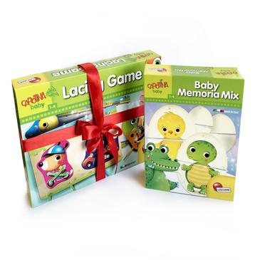 Набор веселых игр для малышей Lisciani