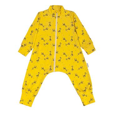 Комбинезон-пижама на молнии легкий Жирафы Bambinizon