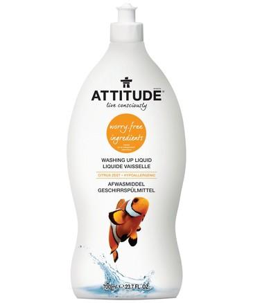 Средство для мытья посуды цитрус зест (700 мл) Attitude