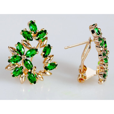 Серьги Камелия Lotus jewelry