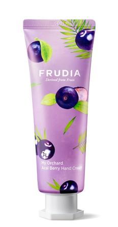 Крем для рук c ягодами асаи Squeeze Therapy Frudia
