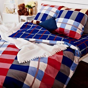 Комплект постельного белья Клетка Байрон TM Textile