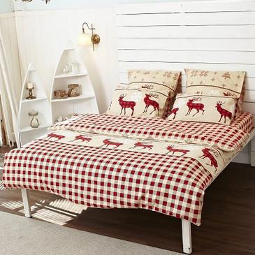 Комплект постельного белья Олени TM Textile