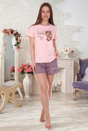 Костюм Good Morning -1 (футболка и шорты) Brosko