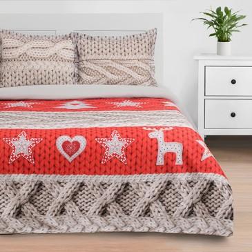 Комплект постельного белья Новогодняя вязка, бязь Этель