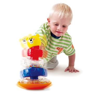 Развив. игрушка Пирамида-неваляшка Мишка PlayGo