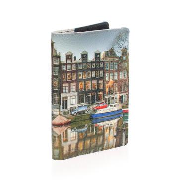 Обложка на паспорт Амстердам 2 Eshemoda
