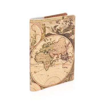 Обложка на паспорт Карта глобусы Eshemoda