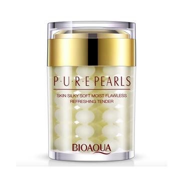 Увлажняющий крем с натуральной жемчужной пудрой Pure Pearls BioAqua