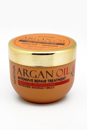 Интенсивно восстанавливающий увлажняющий уход с маслом Арганы Argan oil, 250г Kativa