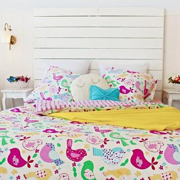 Комплект постельного белья Птички  TM Textile