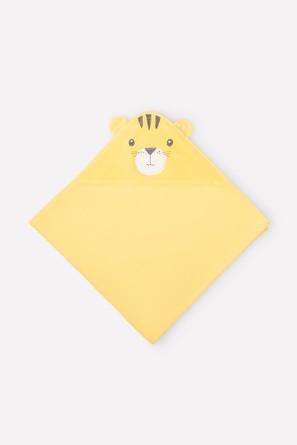 Простынка 85х85 Сафари с желтым Crockid