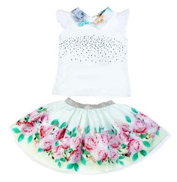 Комплект (футболка, юбка) Baby Rose