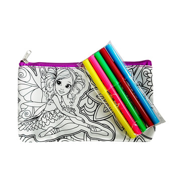 Пеналы и сумки-раскраски. Фея Color Kit