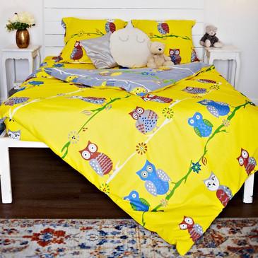 Комплект постельного белья Совы TM Textile