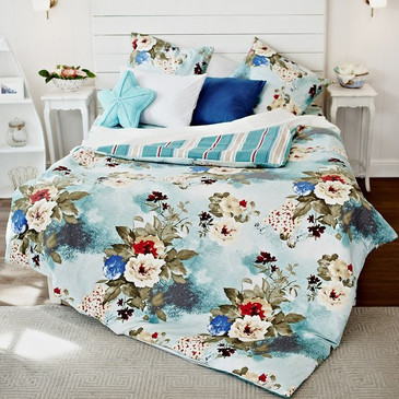 Комплект постельного белья Цветочная фантазия TM Textile