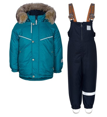 Комплект зимний (куртка и полукомбинезон) Kisu