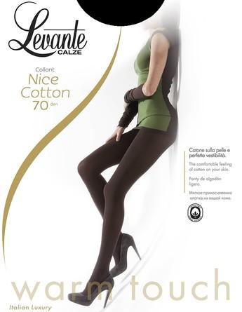 Колготки Nice Cotton 70 den (2 шт.) Levante