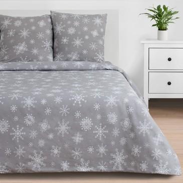Комплект постельного белья Снежинки (вид 1), бязь Этель