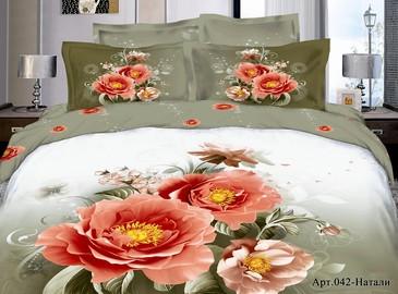 Комплект постельного белья сатин Diva Afrodita