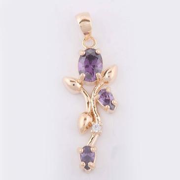 Кулон с аметистом Тюльпан Lotus jewelry