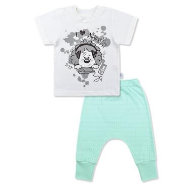 Комплект Ажурное лето (футболка и штанишки) LEO