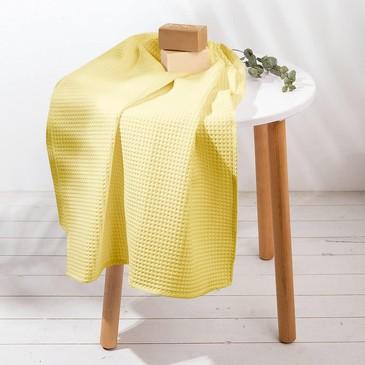 Полотенце вафельное Жёлтый Этель