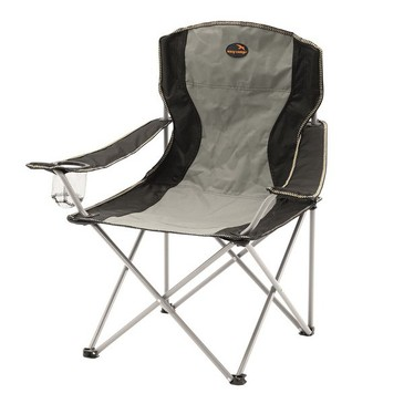 Кресло до 110кг Arm Chair Grey 82x57x85см Easy Camp
